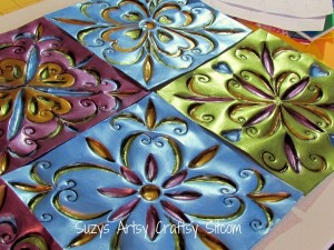 cookie sheet tin tiles