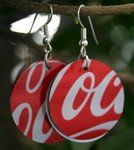 Coke Earings
